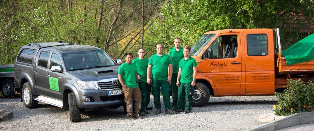 Das Team von Aeckerle Garten- und Landschaftsbau